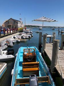 Edgartown Boat in Harbor