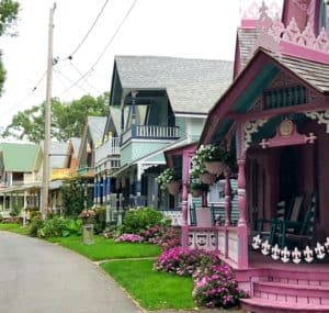 Gingerbread Houses Oak Bluffs